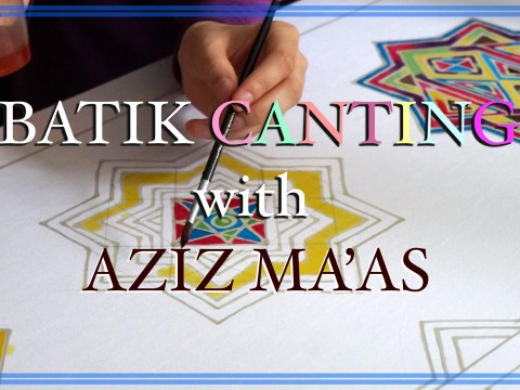 Batik Canting by Aziz Ma'as