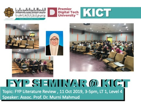 Final Year Project Seminar on Technical Literature review
