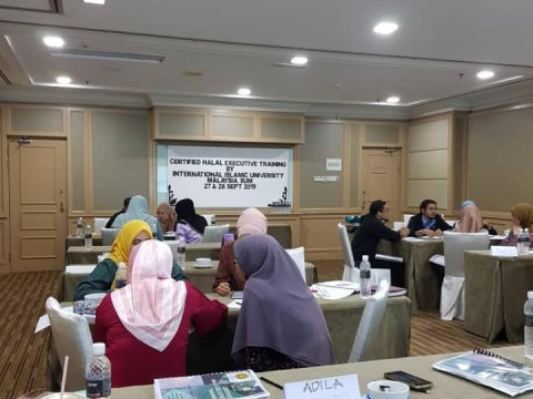 Halal Internal Audit Facilitation for Certified Halal Executives