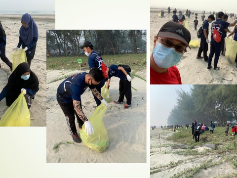 KOD Engagement in Community Project: Beach Cleaning INOCEM - Sejahtera Flagship KOS at Cherok Paloh