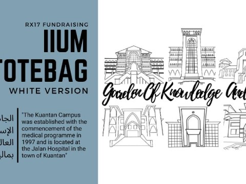 Get yourself Limited Editions of IIUM T-shirt and IIUM Totebags!