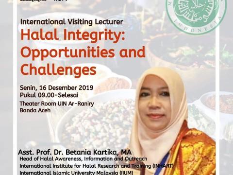 Halal Talk by Asst. Prof. Dr. Betania Kartika