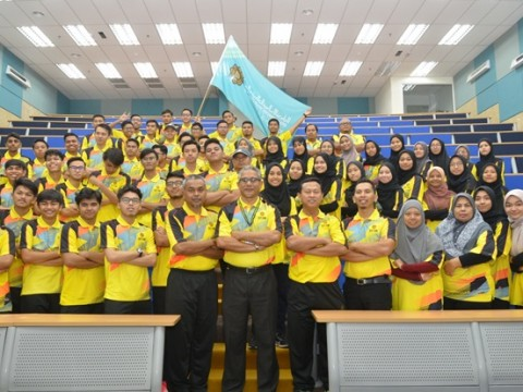 FLAG HAND OVER CEREMONY OF INTER ASASI GAMES