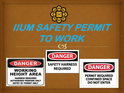 TIPS OF THE MONTH: HOW TO APPLY FOR SAFETY PERMIT TO WORK (SPTW)