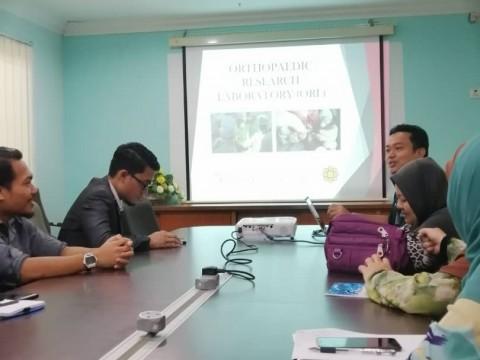 Laboratory visit by Department of Pathology and Laboratory Medicine (PALM), IIUMMC to Orthopaedic Reserch Laboratory (ORL)