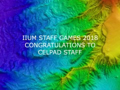 IIUM Staff Games 2018: Congratulations to CELPAD Staff