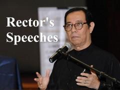 Rector's Speeches