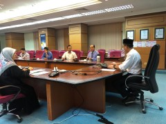 Discussion with Deputy Director, HTAA on transfer ownership of IIUM Assets in HTAA