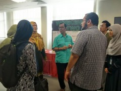 Rector visit to TPHM Exhibition  during  Rector's Strategic Visit