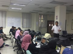 Process Design Workshop By Petronas Research For Integrated Design Project (IDP)