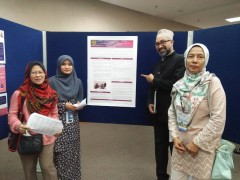 """Student Presented A Poster at 15th National Symposium of Adolescent Health """"Empowering Adolescent"""""""