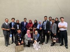 IIUM Model United Nations' Club won 'THE BEST DELEGATION AWARD'
