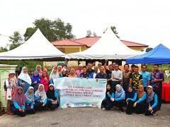 Community Service at Kampung Orang Asli Batu 14, Gambang, Kuantan Pahang