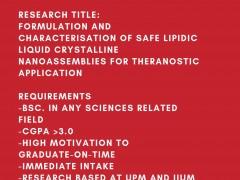 Postgraduate Opportunity at IIUM and UPM