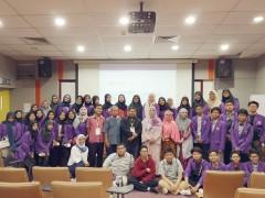 A Visit by SMA Islam Panglima Besar Soedirman Bekasi, Indonesia
