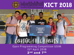 Open Programming Competition USIM