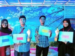 KLM Japanese Minor Course Students Won Prizes at Batu Pahat Japanese Festival