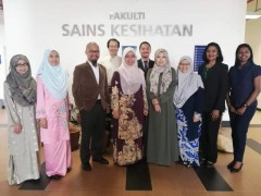 Announcing the appointment of KAHS Dean as the Chairperson of Majlis Dekan Sains Kesihatan Universiti Awam