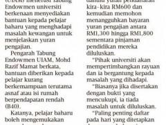 News on IIUM Endowment Fund
