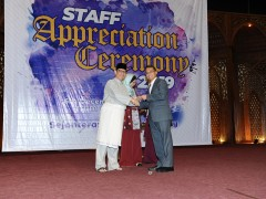 SAC celebrates hundreds of existing and former staffs