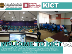 Welcoming New KICT Undergraduate and Postgraduate Student