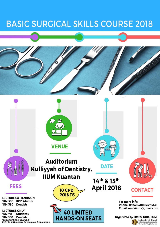 Basic Surgical Skills 2018