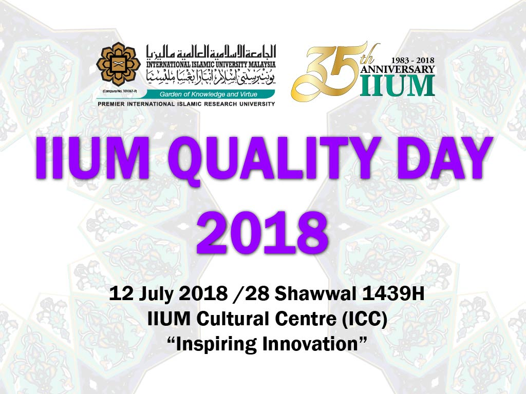 IIUM QUALITY DAY 2018