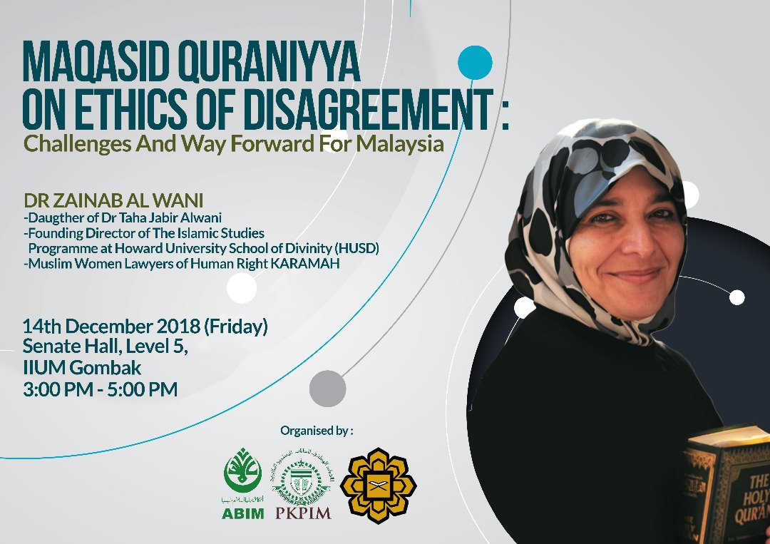 Maqasid Quraniya: on Ethics of Disagreement