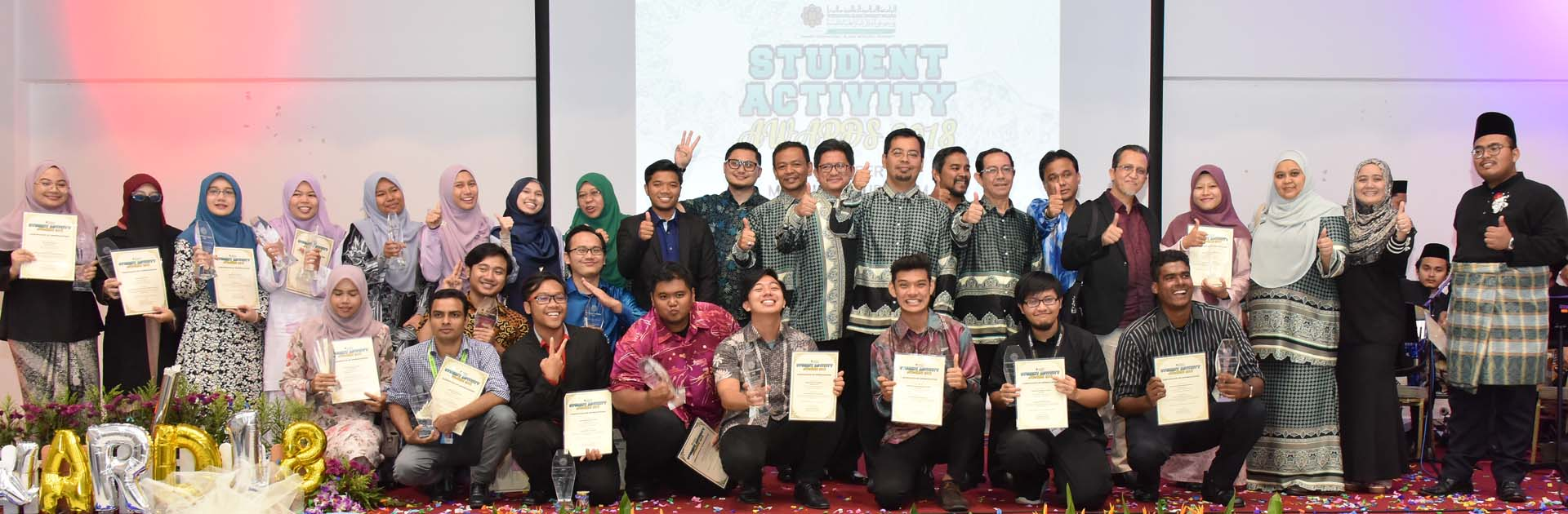 Students Activity Award 2018