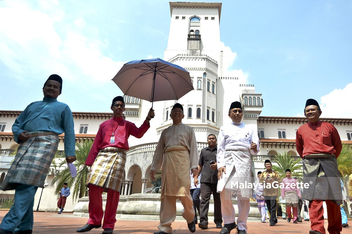 Perasmian Laman Azman Hashim dan Masjid Zabedah