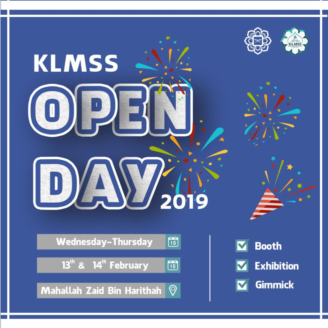 KLMSS Open Day