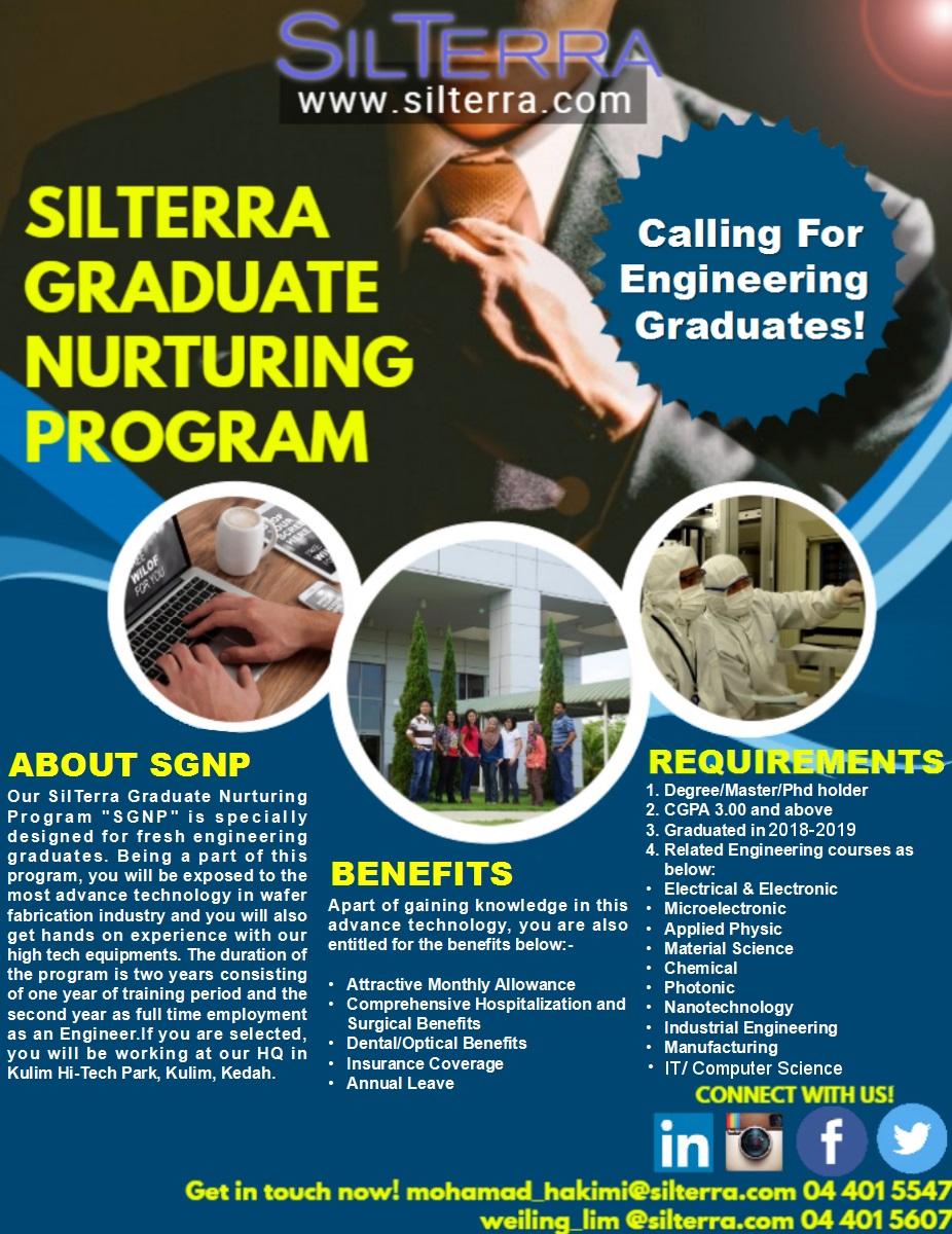 Career Talk by Silterra Malaysia Sdn Bhd