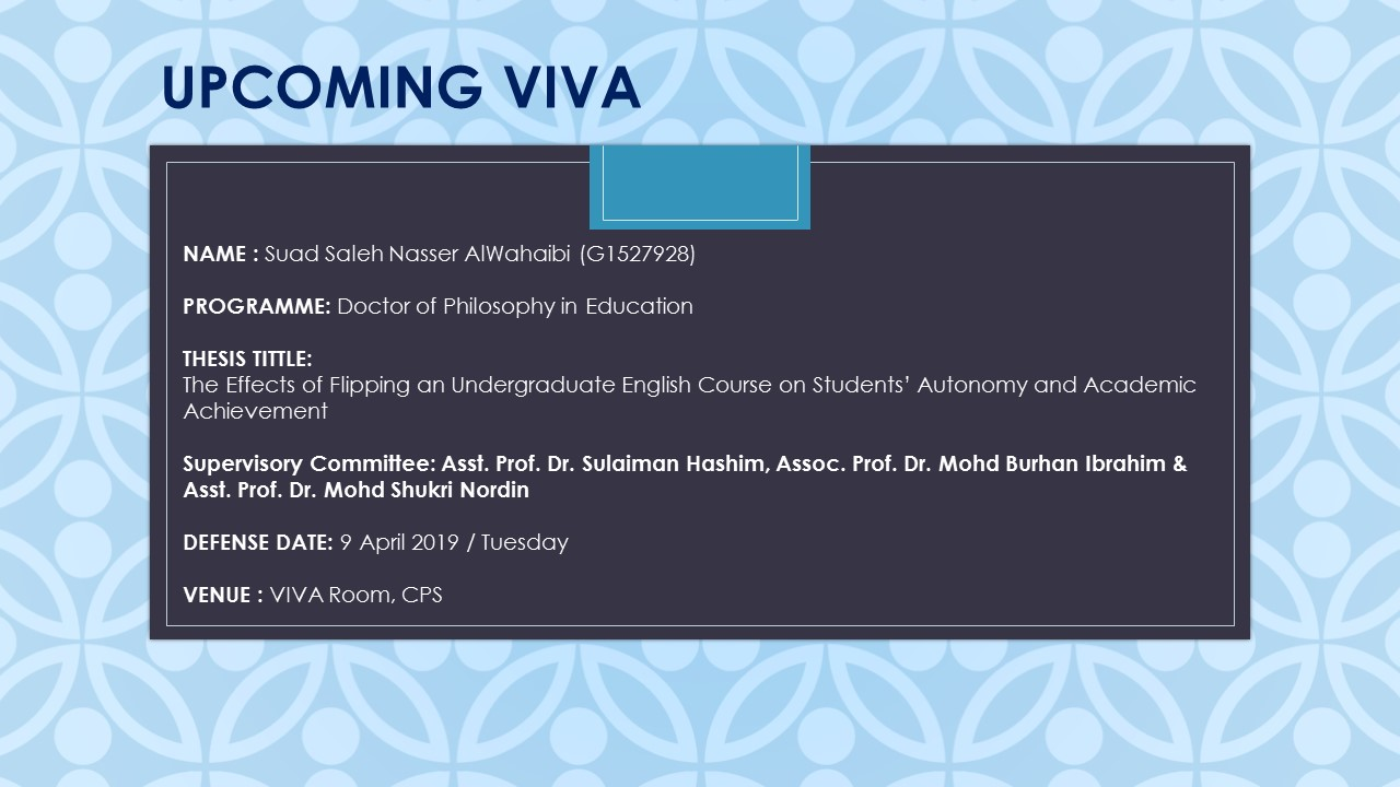 VIVA - Suad Saleh Nasser AlWahaibi (G1527928)