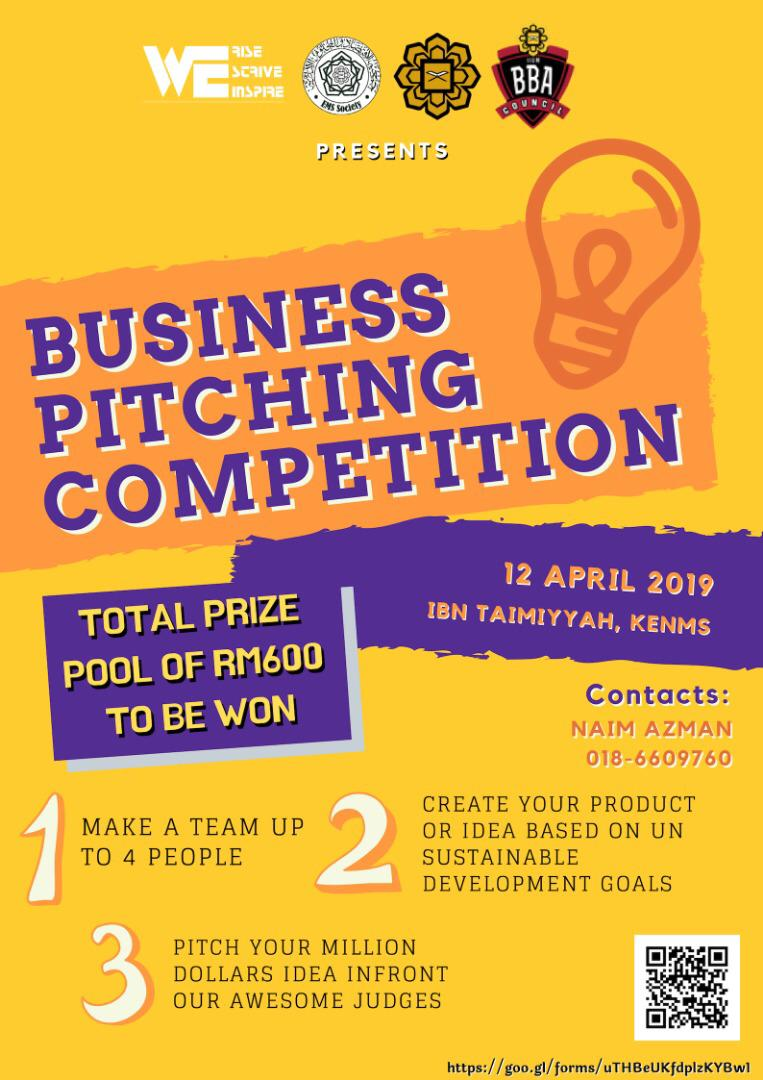 BUSINESS PITCHING COMPETITION