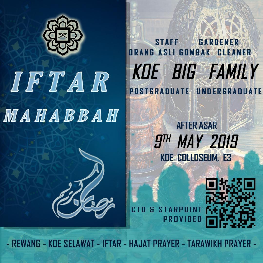 KOE IFTAR MAHABBAH