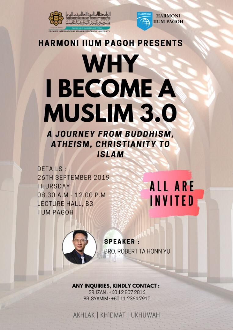 Why I become a Muslim 3.0