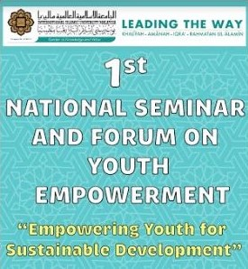1st National Seminar and Forum on Youth Empowerment