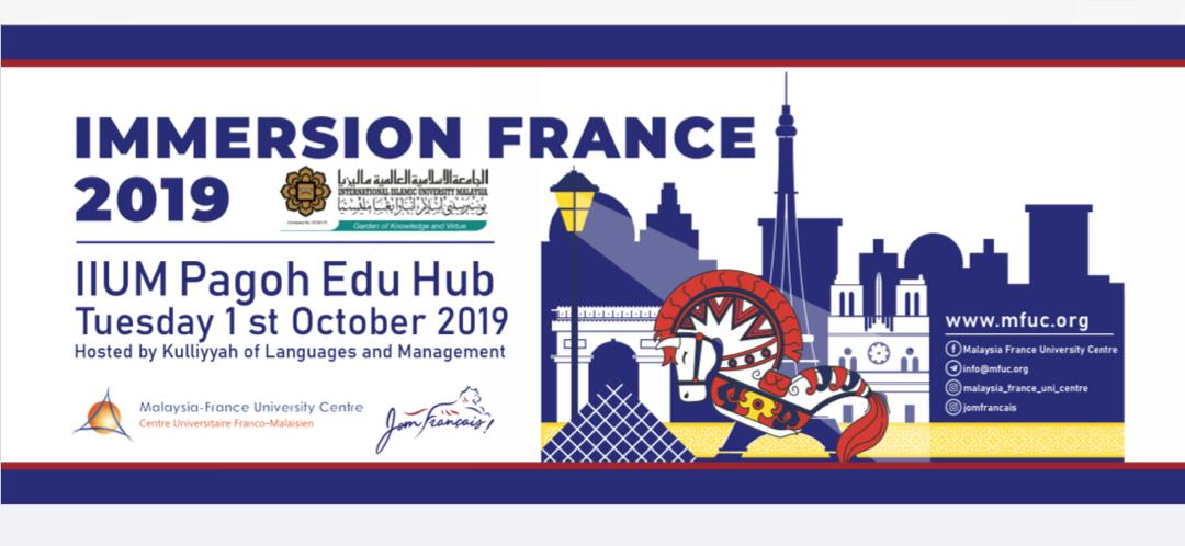 Immersion France 2019