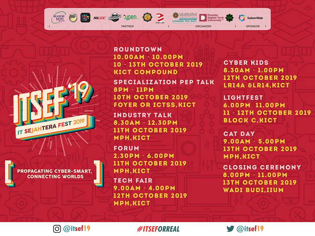 IT Sejahtera Fest 2019 (ITSEF'19)