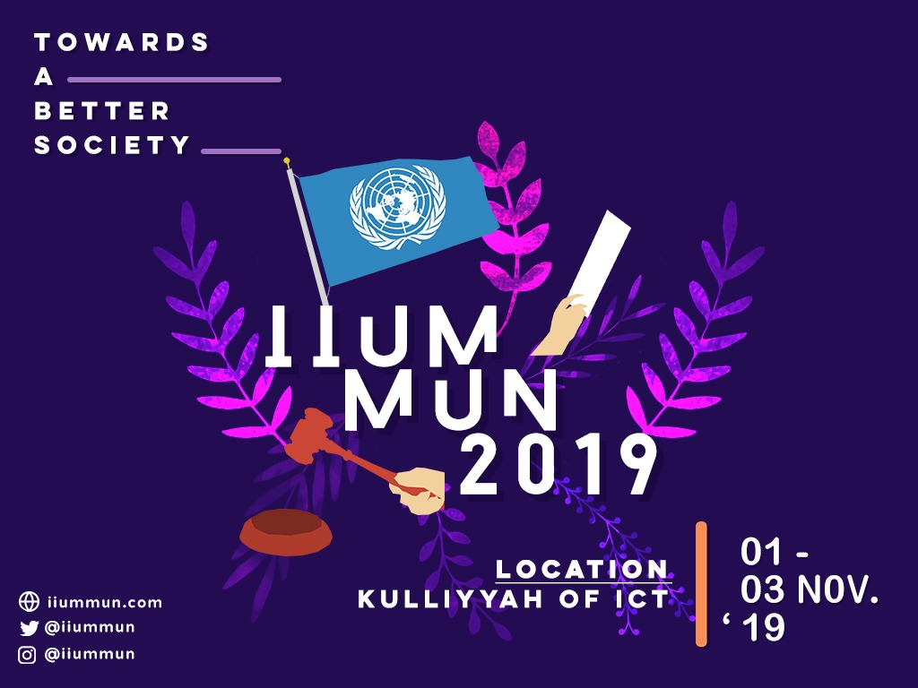 IIUM MODEL UNITED NATION CONFERENCE 2019