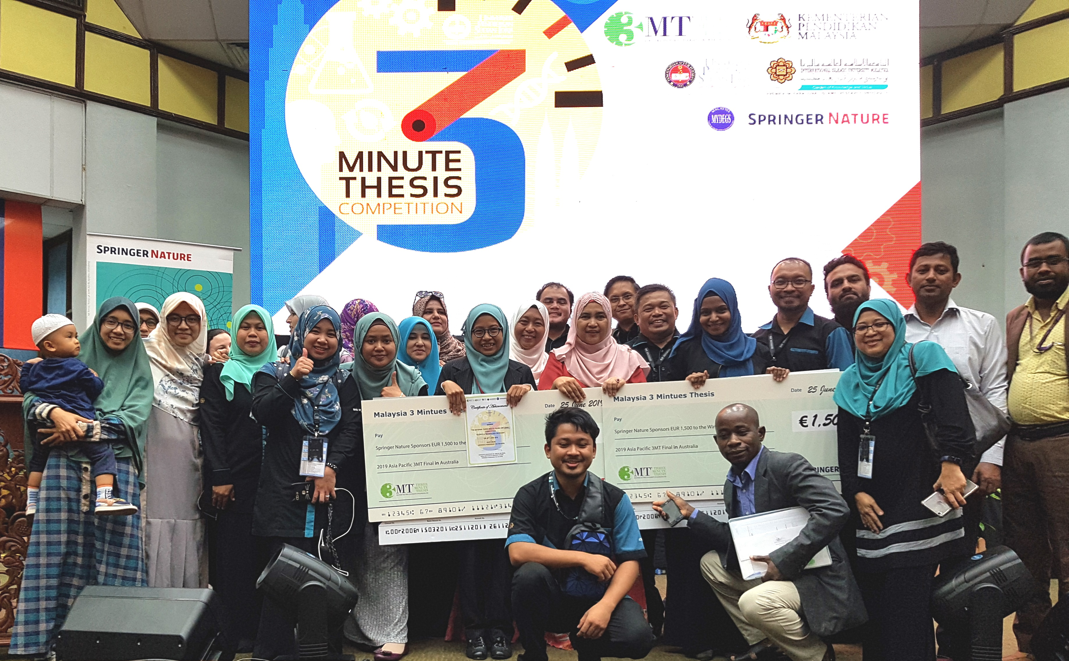 3 Minutes Thesis Competition (National Level)