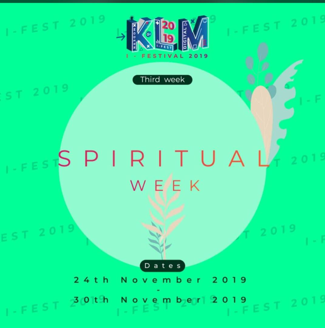KLM I-Fest : Spiritual Week