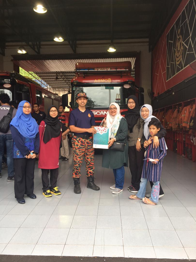 CSR at Wangsa Maju Fire & Rescue Station