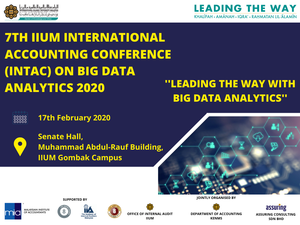 7th IIUM International Conference on Big Data Analytics (INTAC 2020)
