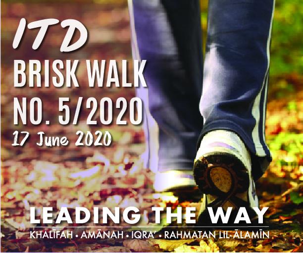 ITD Brisk Walk No.5/2020