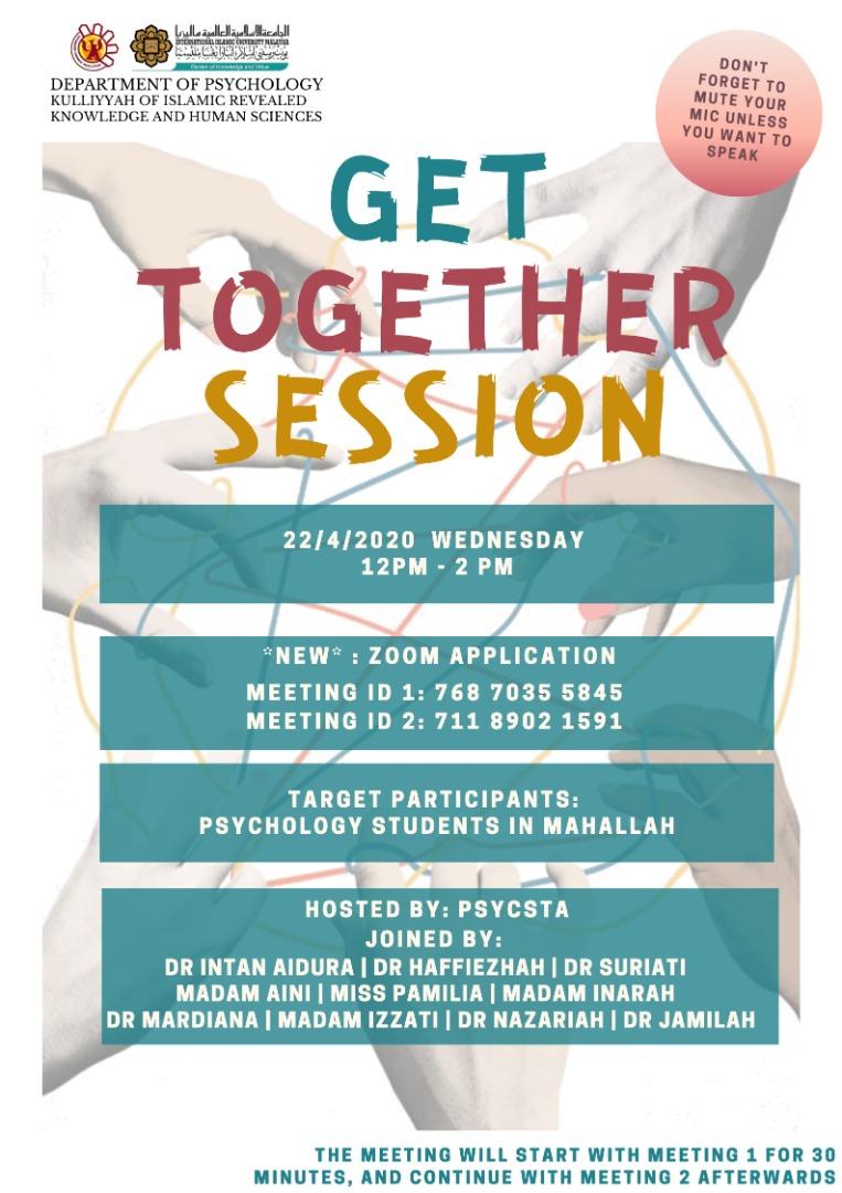 PSYC Get Together Session