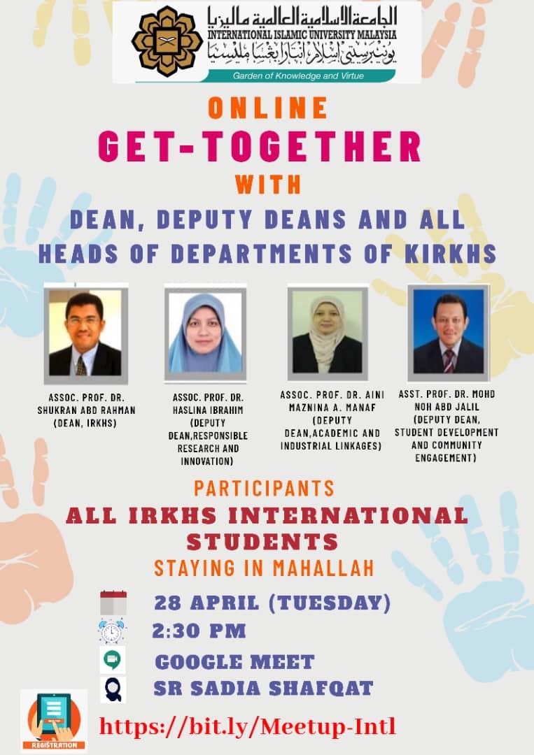 IRKHS Get Together Session